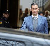 Iñaki Urdangarin sale del Tribunal Superior de Justicia de Baleares...