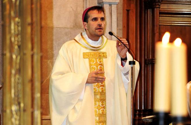 El obispo de la diócesis de Solsona (Gerona), Xavier Novell,...