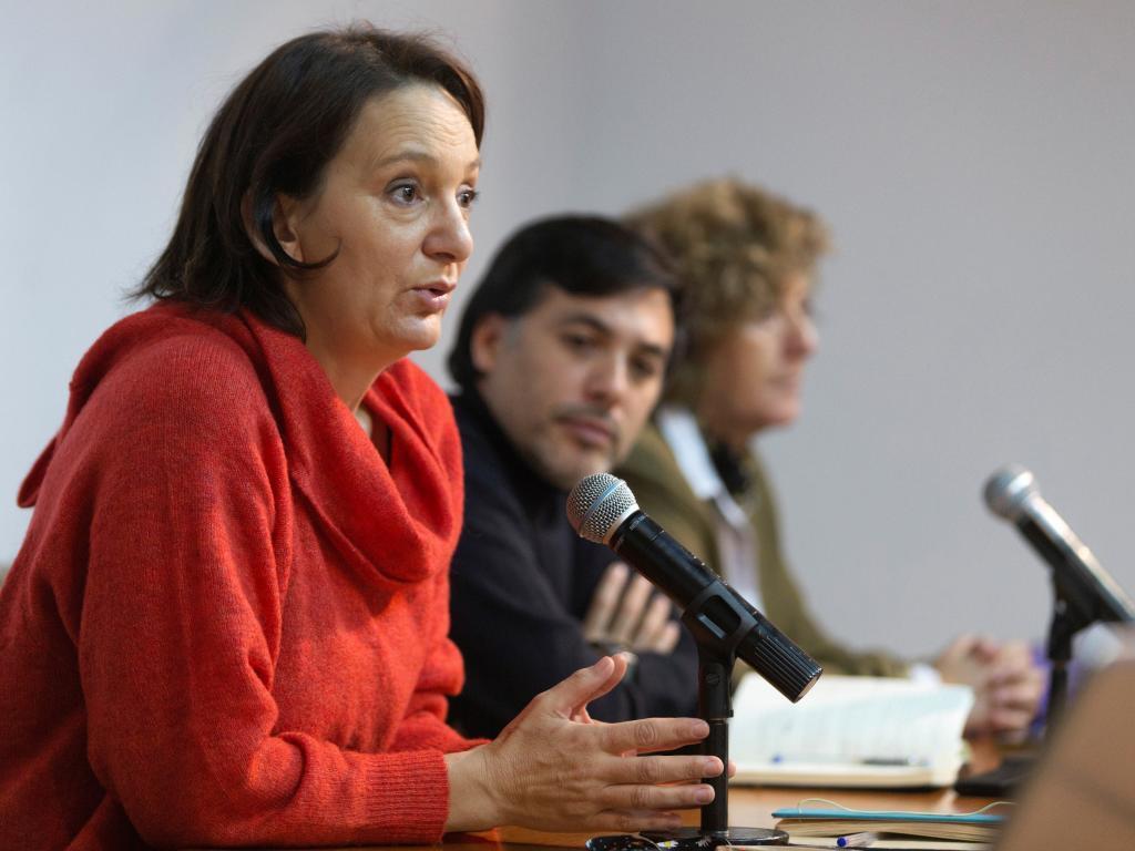 La diputada de Podemos Carolina Bescansa.
