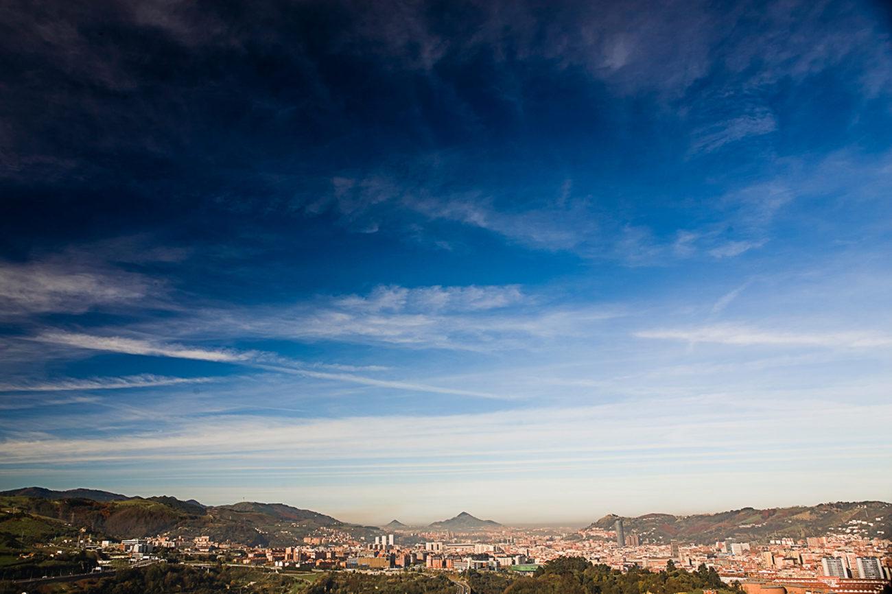 Vista panorámica de Bilbao, que ha puesto a sus pies a toda Europa...