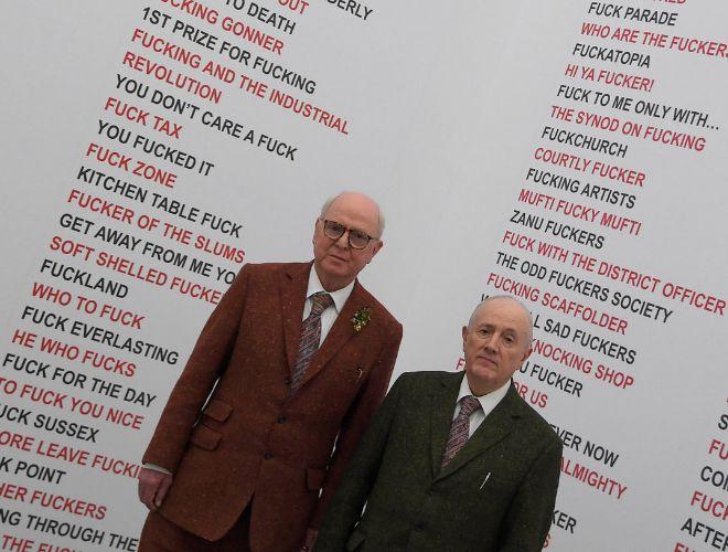 Gilbert & George: la pareja más friki del arte cumple medio siglo ...