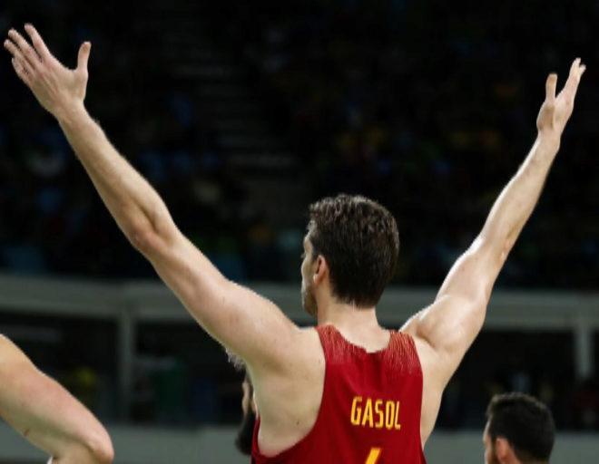 Pau Gasol, durante los Juegos de Río.