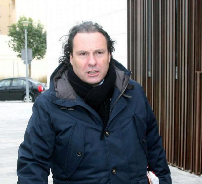 El ex alcalde de Torredembarra Daniel Masagué, llegando a los...