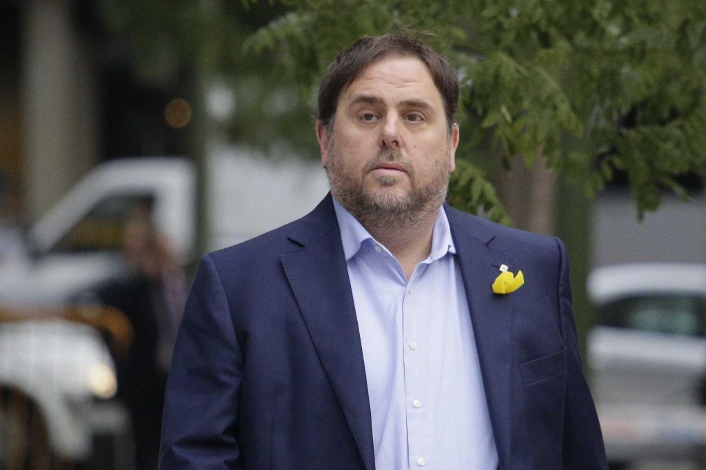 Oriol Junqueras, entrando en la Audiencia Nacional el pasado 2 de noviembre.