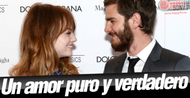 Emma Stone y Andrew Garfield, la viva imagen del amor verdadero