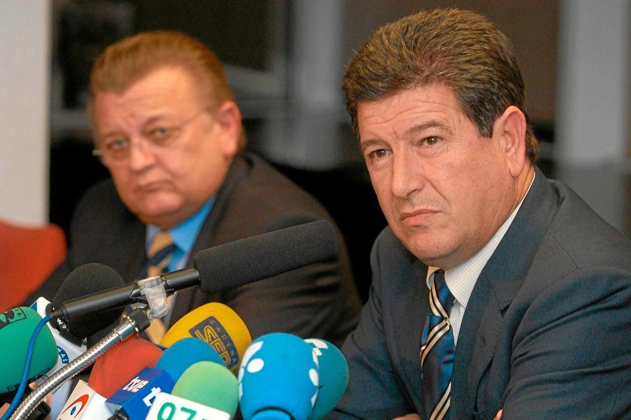 Ortí se convirtió en presidente el 12 de junio de 2001, tras la...