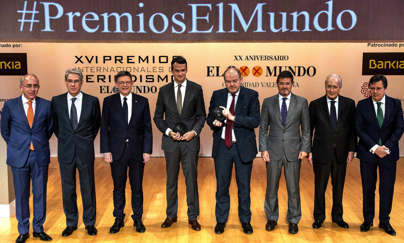 Francisco Rosell, Antonio Fernández-Galiano, Ximo Puig, Klaus...