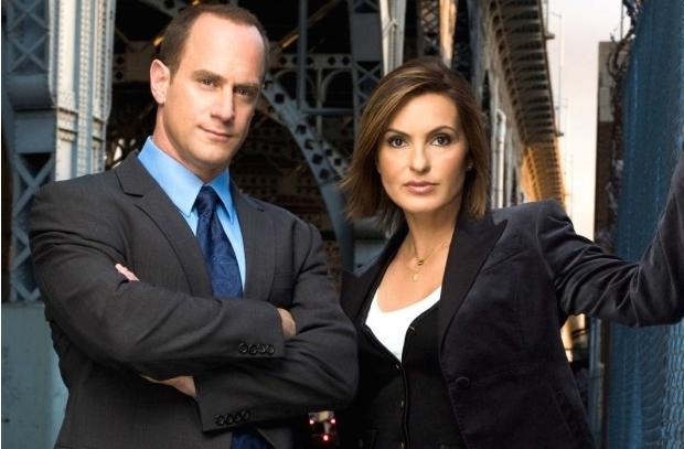 Los actores Christopher Meloni y Mariska Hargitay, protagonistas de 'Ley y Orden'.