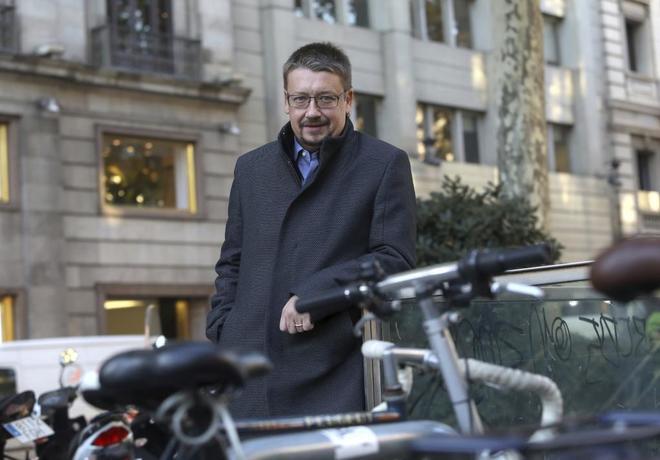 Entrevista a Xavier Domènech, candidato de Catalunya en Comú a las elecciones catalanas
