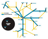 Muestra de las redes ferroviarias españolas