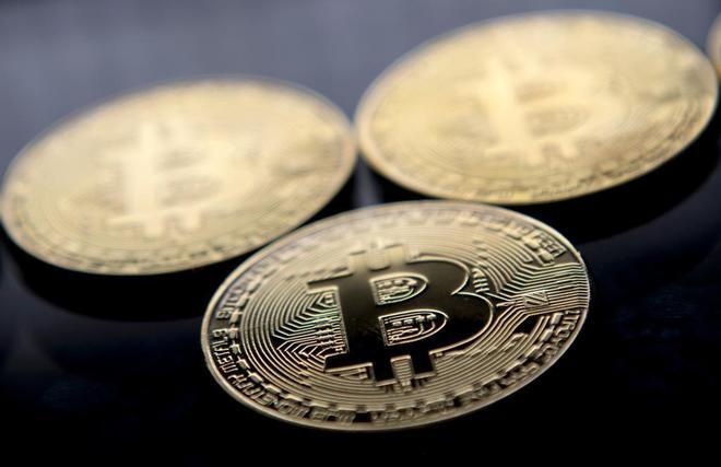 Bitcoins sin valor que se venden como souvenirs en Londres.