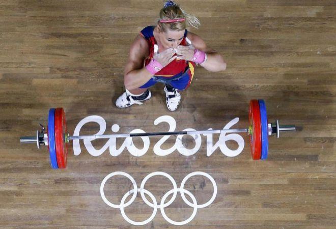Valentín, durante la final de la categoría de 75 kg en los Juegos de Río.