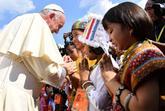 El papa ha llegado hoy a Rangún, la antigua capital de Birmania, en...