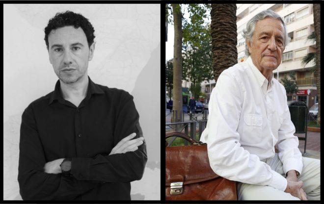Los autores de los dos libros sus experecias en la Cooperaqción Internacional, Alfonso Verdu y Mariano Pérez.