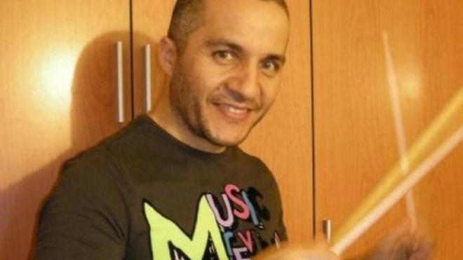 Javier Fernández, ex batería del grupo Los Piratas