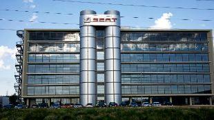 Sede de la marca de automóviles Seat en Martorell