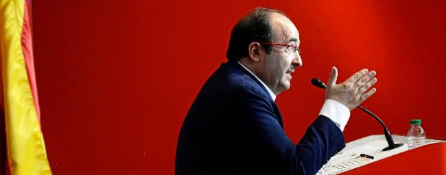 Iceta reclama que el Estado perdone parte de los 52.000 millones que debe Cataluña