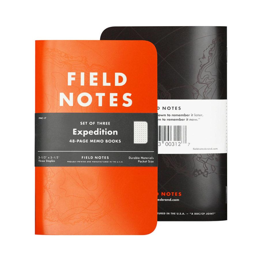 Libreta Expedition de Field Notes, una edición limitada de papel...