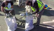 Confiscación de droga en Barcelona