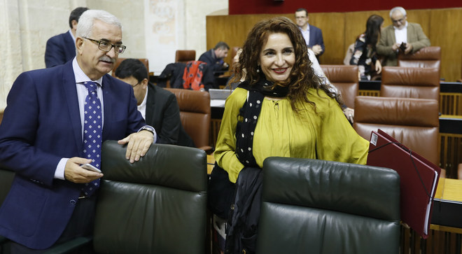 Díaz apuntala el final de su legislatura con el aval de Cs a los presupuestos de 2018