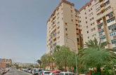 Edificios de la calle Manuel Alemán donde residían el detenido y su...