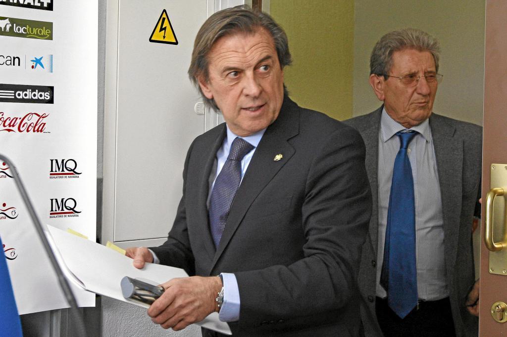 Miguel Archanco, ex presidente de Osasuna
