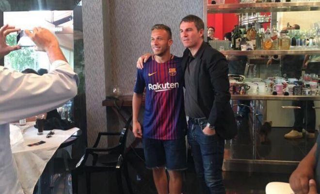 El Gremio demandará al Barça tras la foto de Robert con Arthur