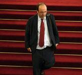 Miquel Iceta, primer secretario del PSC, en el Parlament.