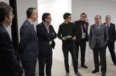 De izqda. a dcha., José Enrique Serrano, Francisco Martínez, Ignacio...