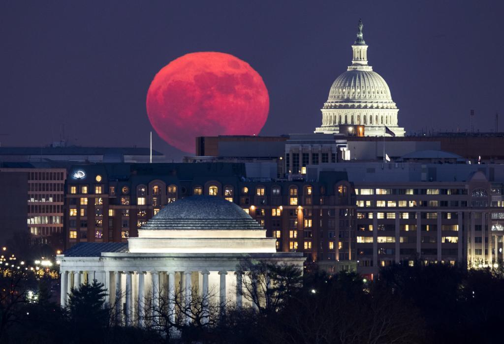 El Capitolio de EEUU en Washington.