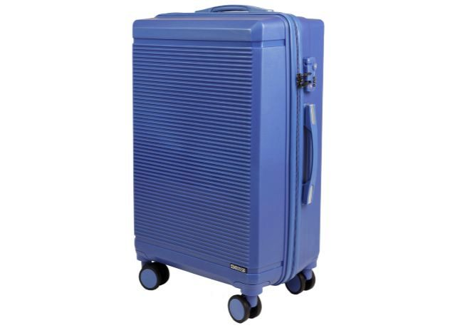 Trolley máscara navy (49 euros).