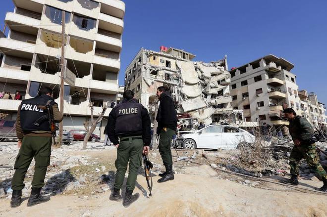 Nuevos ataques a reos israel es en siria cerca de damasco - Fotos de damasco ...