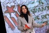 Inés Arrimadas, candidata de Ciudadanos a la Generalitat, en el...