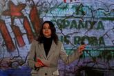La candidata de Cs a presidir la Generalitat, Inés Arrimadas, en el...