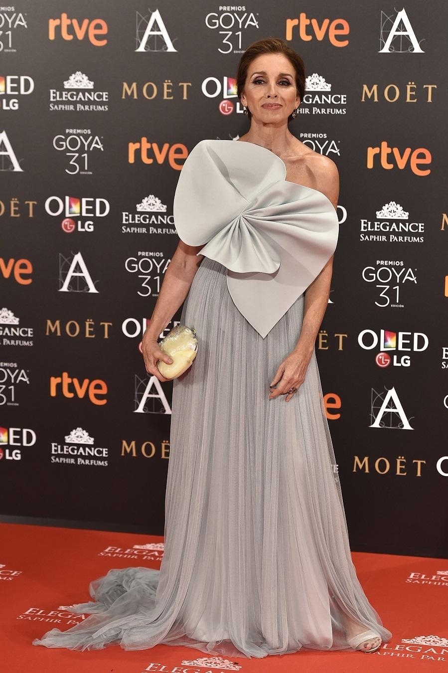 El vestido la convirtió en la más elegante de la edición de los...