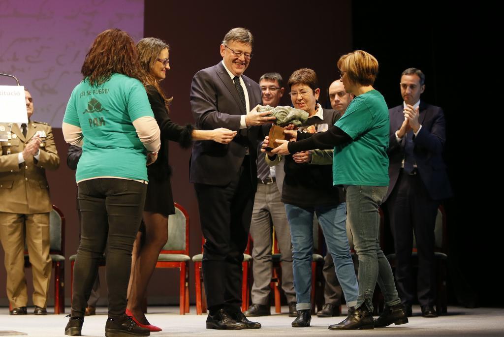 Celebración del aniversario de la Constitución Española en el...