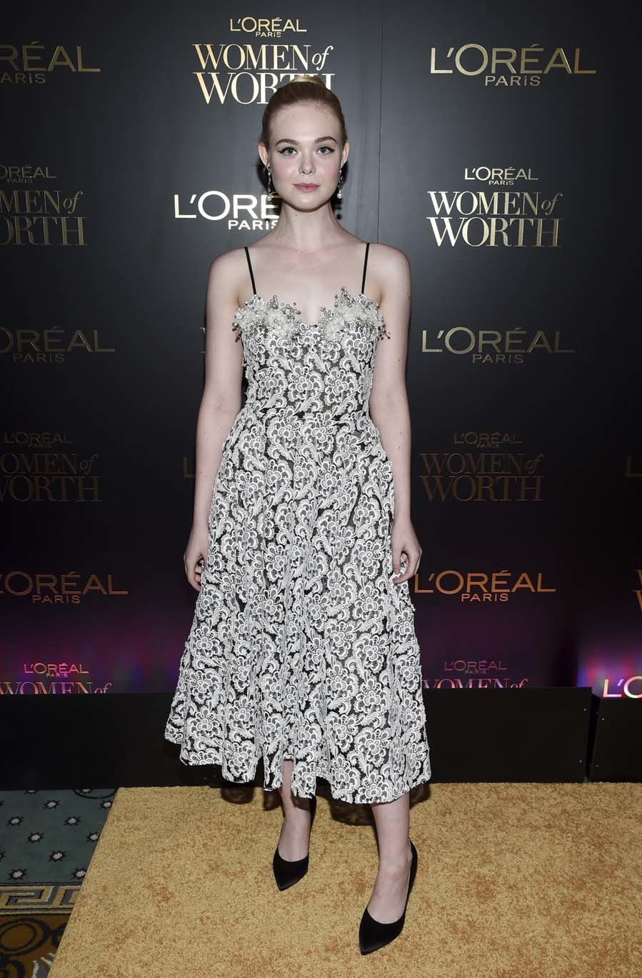 Elle Fanning - LOréal Women of Worth Awards