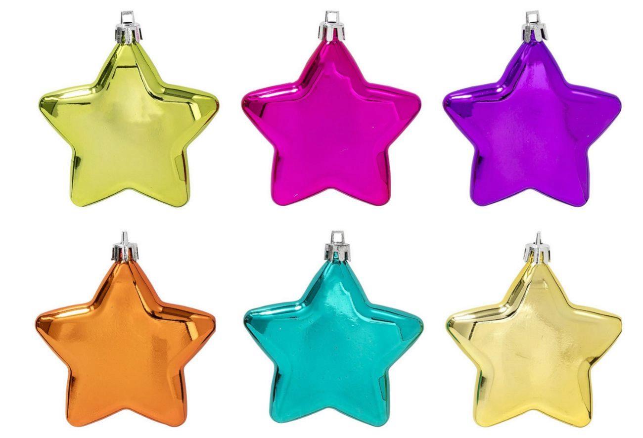 Ideales para colgarlas en el abeto navideño y darle un punto de color...