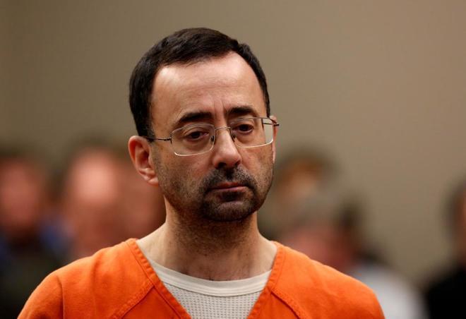60 años de cárcel para Larry Nassar, el monstruo de los abusos a las gimnastas