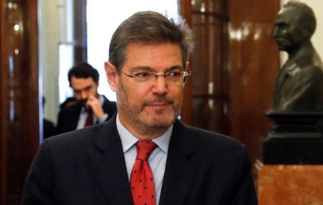 El ministro de Justicia español, Rafael Catalá