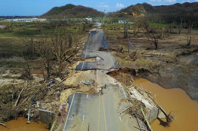 Los muertos que barrió el huracán en Puerto Rico