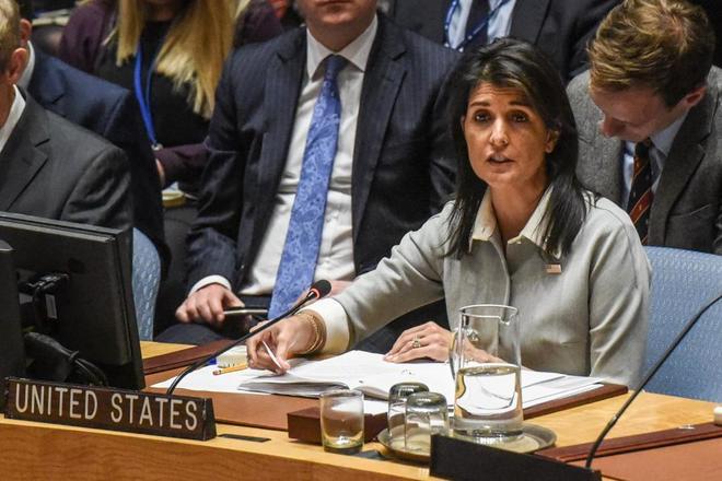 Haley: Las mujeres que acusan a Trump de acoso sexual