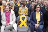Acto electoral de ERC este domingo, con Marta Rovira y Carme...