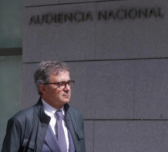 Jordi Pujol Ferrusola el pasado mes de marzo entrando en la Audiencia Nacional.