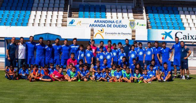 Equipo de fútbol de la Arandina.