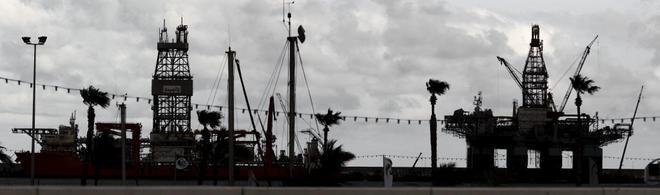 Prospecciones petrolíferas en las Islas Canarias.
