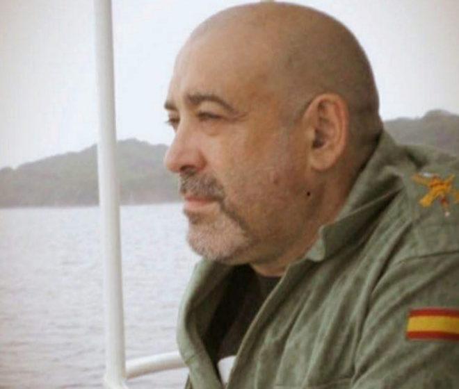 El fallecido, Víctor Laínez.