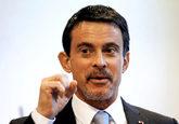 Manuel Valls, ex primer ministro francés, ayer en Barcelona.