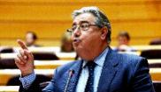 El ministro del Interior, Juan Ignacio Zoido, ayer en el Senado.