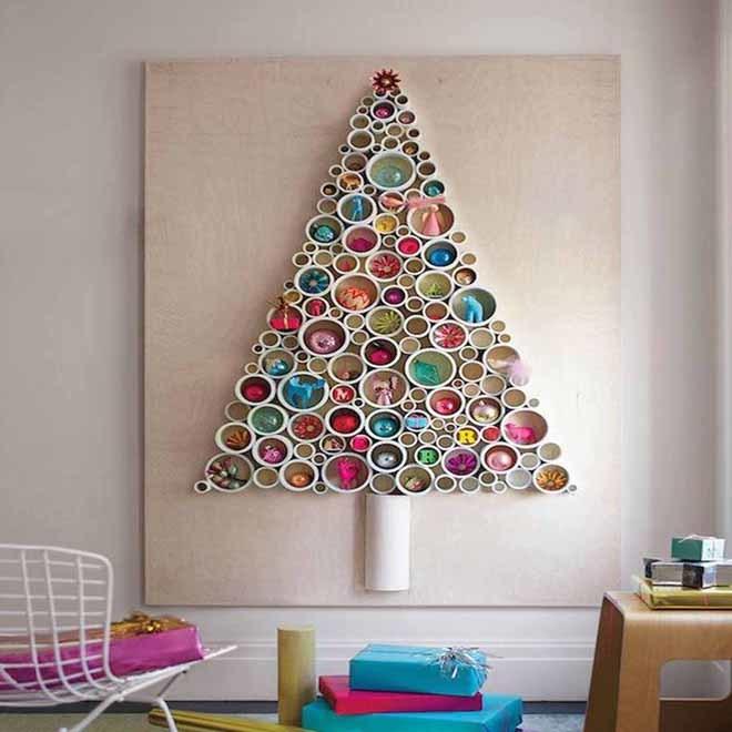 Arboles De Navidad Si Pero Este Ano Ecologicos Y De Pared Yodona - Arboles-de-naidad